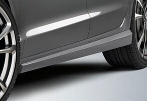 Пороги ABT для Audi A6 4G