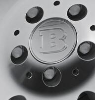 Заглушки центральных отверстий диска Brabus