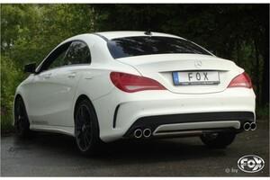 Глушитель FOX для Mercedes CLA C117