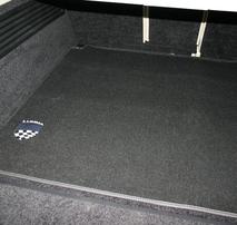 Велюровый коврик в багажник Lumma для Range Rover Vogue
