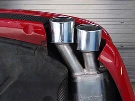 Выхлопная система Eisenmann для Mercedes SL55 AMG R230