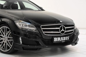 Накладки переднего бампера Brabus для Mercedes CLS C218