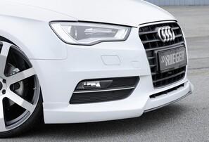 Накладка переднего бампера Rieger для Audi A3 8V