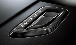 Карбоновые воздуховоды на капот для Range Rover Sport