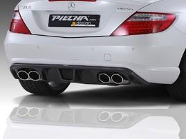 Накладка заднего бампера Piecha Design для Mercedes SLK R172