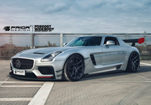 Тюнинг Mercedes SLS от Prior Design