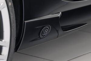 Накладки на пороги Brabus для Mercedes SLK R172