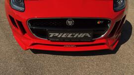 Накладка переднего бампера Piecha для Jaguar F-Type