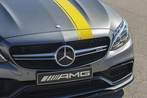Наклейки Edition 1 для Mercedes C-Class Coupe C205