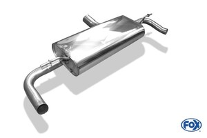 Глушитель FOX для Mercedes GLA X156