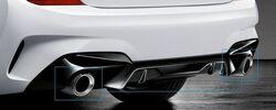 Карбоновые насадки M Performance для BMW G20 3-серия