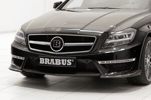 Накладка переднего бампера Brabus для Mercedes CLS63 C218