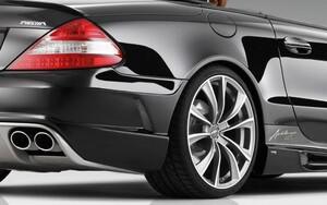 Задний бампер Avalange RS-R Piecha Design для Mercedes SL R230 с 04/08