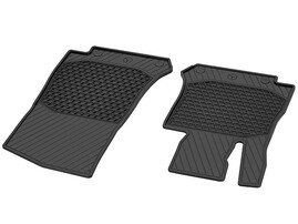 Передние резиновые коврики для Mercedes GLC