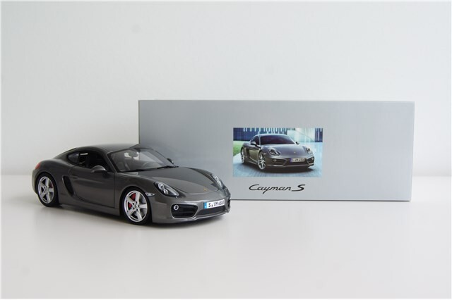 Модель Porsche Cayman 981