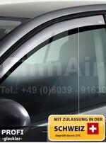 Дефлекторы на окна для Mercedes ML W166