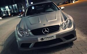 Обвес Black Edition Prior Design для Mercedes CLK C209