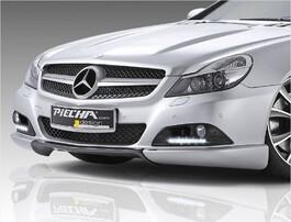 Накладка переднего бампера Piecha Design для Mercedes SL R230 с 04/08