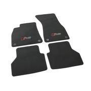 Велюровые коврики RS для Audi A6 C8