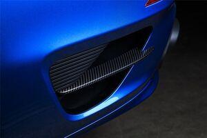 Карбоновые вставки в задний бампер Techart для Porsche 991 Turbo/Turbo S