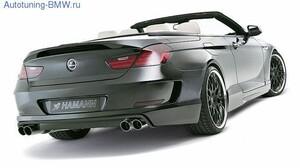 Задний бампер Hamann для BMW F12/F13 6-серия