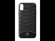 Кожаный чехол для iPhone X/XS Mercedes