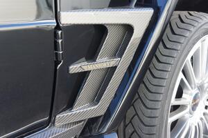Карбоновые накладки на крылья Mansory для Mercedes G-Class