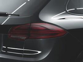 Тонированные фонари для Porsche Cayenne 958 с 2015
