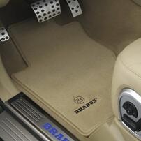 Велюровые коврики Brabus для Mercedes CLS C218