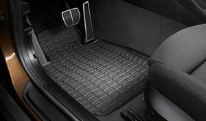 Комплект передних ножных ковриков для BMW X1 E84 Xdrive