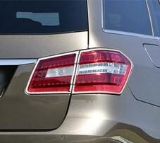 Хромированные накладки задние фонари Schatz для Mercedes E-Class S212