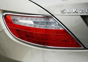 Хромированные накладки на задние фонари Schatz для Mercedes SLK R172