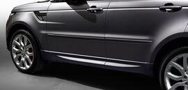 Боковые молдинги для Range Rover Sport