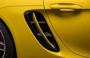 Накладки воздуховодов Techart для Porsche Boxter 718
