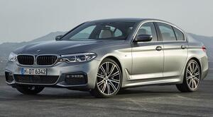Аэродинамический обвес М-стиль для BMW G30 5-серия