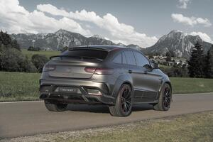 Карбоновый спойлер Mansory для Mercedes GLE Coupe
