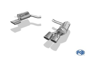 Глушители FOX для Mercedes CLS350 C218