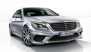 Передний бампер S63 AMG для Mercedes S-Class W222 / V222