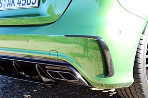 Накладки заднего бампера Edition 1 для Mercedes A-Class W176