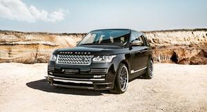Передняя накладка Hamann для Range Rover Vogue