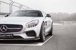Карбоновые накладки на воздуховоды Luethen Motorsport для Mercedes AMG GT