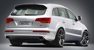 Спойлер Caractere для Audi Q7 4L