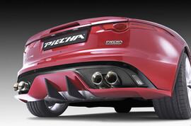 Диффузор Piecha для Jaguar F-Type