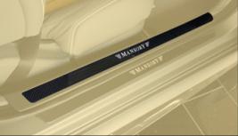Карбоновые накладки на пороги Mansory для Mercedes S-Class Coupe