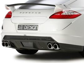 Задний бампер JE Design для Porsche Panamera