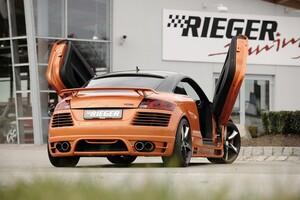 Задний бампер Rieger для Audi TT 8J