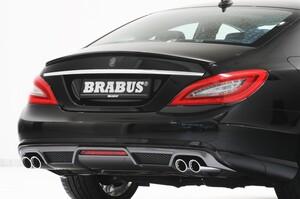Диффузор заднего бампера Brabus для Mercedes CLS C218