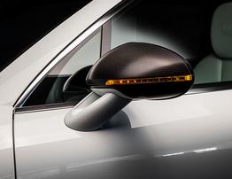 Карбоновые накладки на зеркала Techart для Porsche Macan