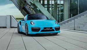 Спойлер переднего бампера Techart для Porsche 991.2 Turbo/Turbo S