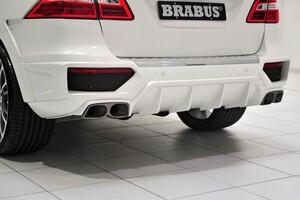 Глушитель Brabus для Mercedes ML63 AMG W166